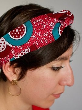 Headband rouge Ylle