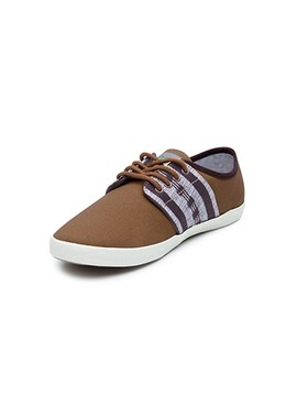 Basket fine marron N'go Shoes