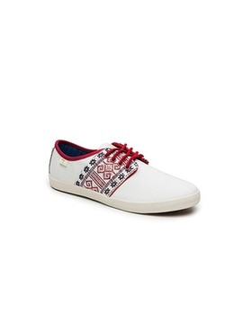 Basket fine blanche N'go Shoes