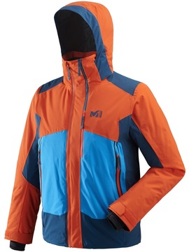 Veste ski MILLET 7/24 Stretch Orange-Poseidon Millet
