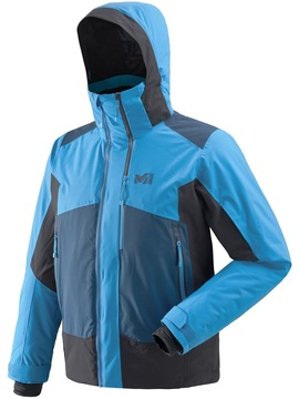 Veste ski MILLET 7/24 Stretch Electric Blue-Black Millet