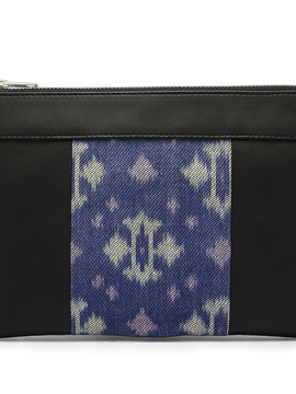Pochette vegan noire et bleue Wonder Women of the World