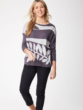 Pull Lavern coton bio et laine Thought