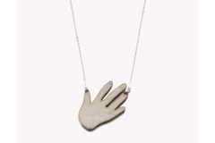 COLLIER HAND Lovely Green