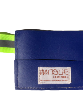 Porte-cartes REFLET bleu MANGUE Clothing
