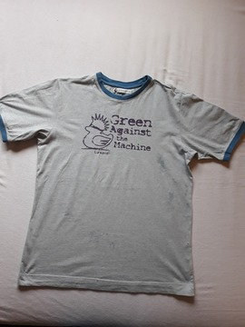 "tee-shirt ""Green against the machine"" Idéo/Laspid"