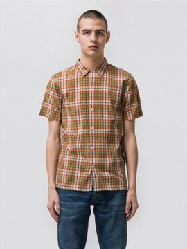 Chemise madras manches courtes  NUDIE JEANS