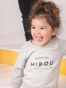 SWEAT ENFANT - LE PETIT HIBOU Chat Malo