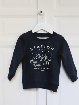 SWEAT ENFANT - STATION NORD Chat Malo