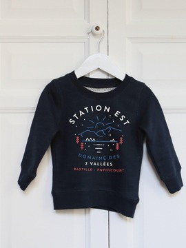 SWEAT ENFANT - STATION EST Chat Malo