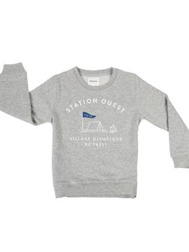 SWEAT ENFANT - STATION OUEST Chat Malo