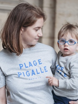TEE-SHIRT ADULTE - LE PIGALLE Chat Malo