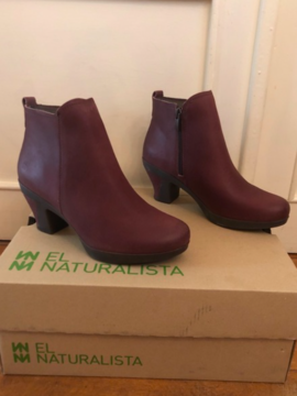 Bottines cuir bicolore EL NATURALISTA
