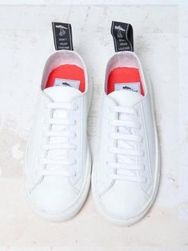 SNEAKERS VEGAN GOOD GUYS SAMO WHITE Good Guys don't wear leather