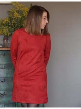 ROBE LUCA ROUGE Vintage Love