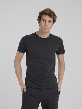 T-Shirt Thinking Mu Pocket noir Thinking Mu