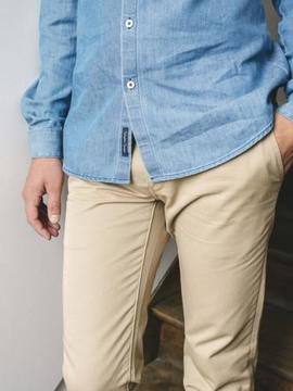 Pantalon chino LA GENTLE FACTORY Carlo LA GENTLE FACTORY