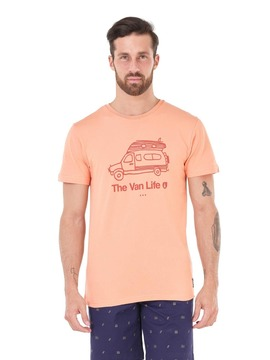 T-Shirt PICTURE Van Life Peach Picture