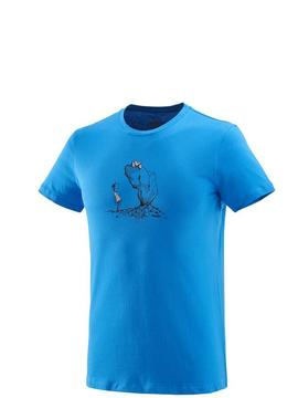 T-shirt bio MILLET Way Up Bleu Millet