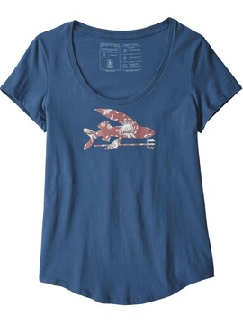 T-shirt PATAGONIA Flying Fish Stone Bl Patagonia