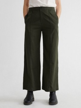 MAIA PANTS DARK GREEN Thinking Mu