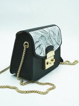 MARBLE Bag Full Leather Woodo