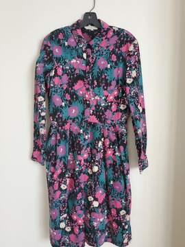 Robe Shelby Floral t.40 People Tree