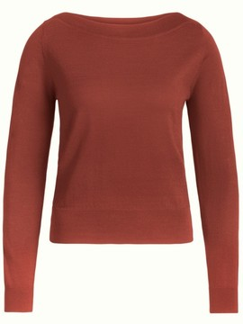 AUDREY TOP HENNA RED King Louie